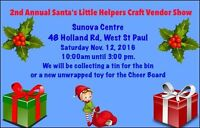Santa's Little Helpers Craft and Vendor Show