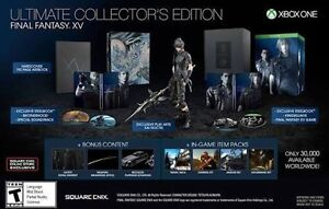 Final Fantasy XV Ultimate Collector's Edition (XBOX One) Wynnum West Brisbane South East Preview