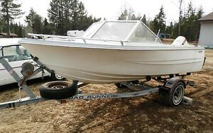 16ft boat and trailer