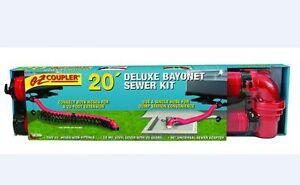 20ft Bayonet Sewer Hose Kit