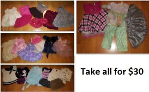 2T Girls Clothing Lot 2 (Take 25 Pieces for $30)