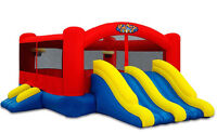 Kids Palace Combo Bouncy Castle Rental $150 Delivered Full Day