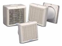 Vent Axia Lo Carbon VA150HP Humidity Fan with Shutter