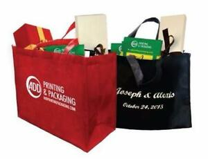 Promotional Reusable Logo Printed Non-Woven Grocery Bags/Customize Bag/Logo Printing