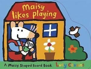 *BRAND NEW* MAISY LIKES PLAYING by LUCY COUSINS