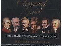 Classical Gold 50 CD Box Set