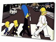 Beatles Abbey Road Canvas