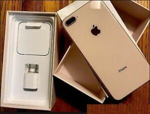 APPLE IPHONE 8 PLUS►64GB►OPEN BOX►APPLE WARRANTY GOLD /SILVER