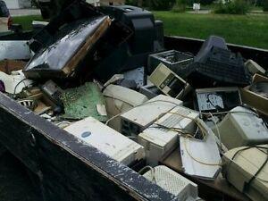WE TAKE ALL ELECTRONICS, HOUSEHOLD DEBRIS,METAL,BATTERIES, ETC Belleville Belleville Area image 1
