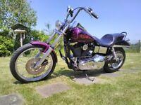 Harley Davidson Evo Widelglide
