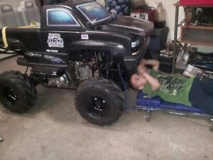 STOLEN FROM O.K. TIRE***KIDS TOY GAS POWERWHEELS