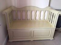 Shabby Chic bedroom furniture - storage seat