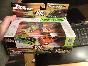 The Fast and The Furious, diecast $5-$60each, see all photos