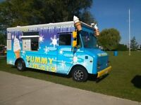 ICE CREAM TRUCK AVAILABLE FOR YOUR EVENT