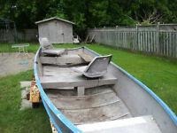 14 alum boat motorand trailer