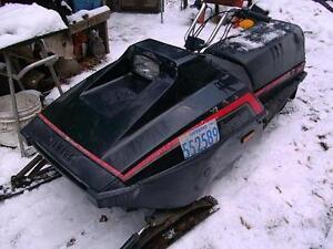 YAMAHA BRAVO (kids sled)