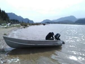 12ft aluminium boat with trailer