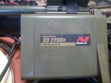 METAL DETECTOR MINELAB SD2200d Langford Gosnells Area Preview