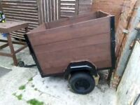 Trailer (ideal for camping)