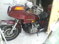 TRADE MY MOTORCYLCE FOR YOUR OLD FARM TRACTOR/LIFT TRUCK