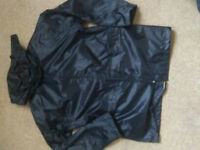 black waterproof jacket size 11-12 years