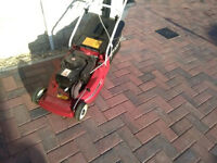 "MOUNTFIELD 16"" Empress Model petrol lawn mower with a Tecnamotor"