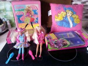 Vintage Barbies, Pillow & Case