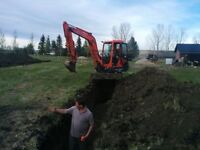 Trenching / Ditching / Underground Services. We got you covered!