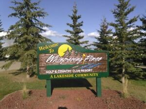 RV lot, Whispering Pines Golf..., Lake, Central AB