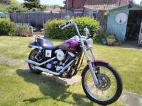 Harley Davidson 1340 Evolution engined Wideglide