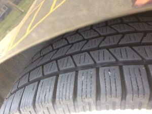 """Looking to trade 4Winter tires on Mags 17"""" Mercedes-Benz GLK350"""