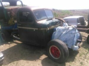 rat rod frame and running gear