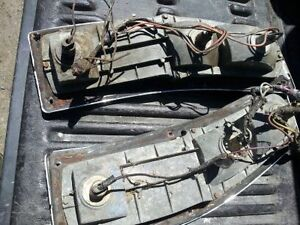 pair of 1972-77 ford ranchero tail lights with trim & wiring Belleville Belleville Area image 4