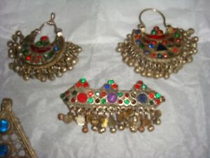 Vintage silver jewellery from Afghanistan