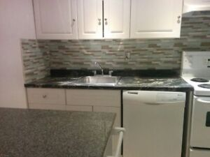 1 BR basement apt all inclusive $ 1000 available now or oct 1st