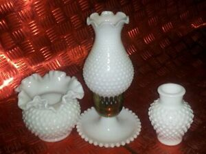 milk glass vase and lamp Belleville Belleville Area image 1