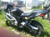 yamaha r6 1999 accidenter pas declarer vga