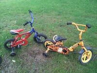 have a variety of kids bikes
