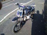 Stomp juicebox pitbike 110cc