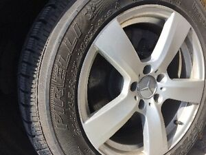 """Hi Looking to trade 4 Mags 17"""" de Mercedes-Benz OEM GLK 350 with"""