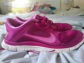 Nike Free 4.0 V3 women's running trainers,sneakers. 580406 603. Size 5