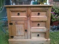 Wooden Pine Unit