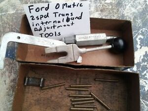 RARE VINTAGE SNAP ON TOOLS FOR FORDOMATIC 2SPD TRANS