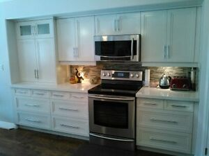 Re-finish your kitchen?