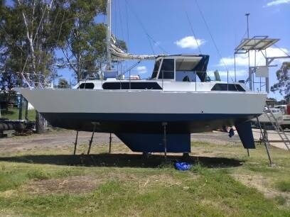 35ft Steel Boro yacht REDUCED TO $13,000