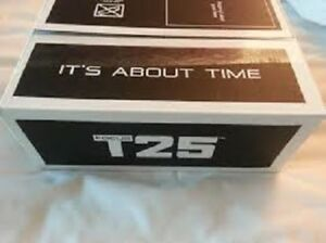 NEW T25 workout dvd $25 DVD Call, teX Jeremy 647-609 7978