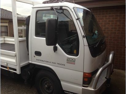 2005 Isuzu NKR200 Flat Low Truck Glenroy Moreland Area Preview