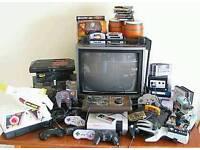 Wanted any gaming bits.