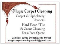 Magic Carpet Cleaning Cardiff