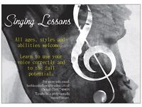 Singing lessons now on in Halesworth!
